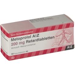 Metoprolol AbZ 200 mg Retardtabletten