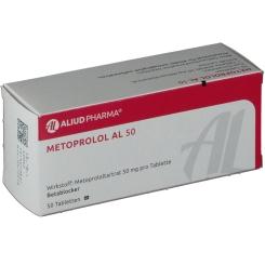 Metoprolol Al 50 Tabletten