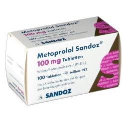 Metoprolol Sandoz 100 mg Tabletten