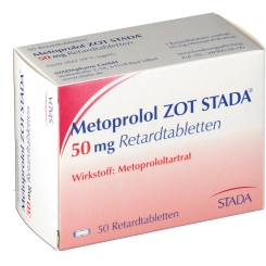 Metoprolol Stada Zot 50 mg Retardtabl.
