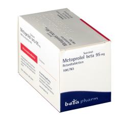 Metoprolol Succinat beta 95 mg Retardtabletten - shop