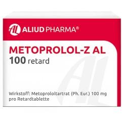 Metoprolol Z AL 50 Retardtabletten