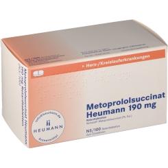 METOPROLOLSUCC HEUM 190MG