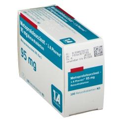 Metoprololsuccinat 1 A Pharma 95 mg Retardtabletten