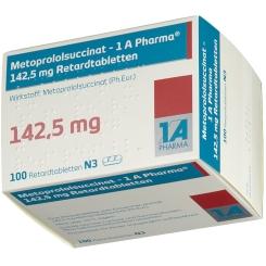 METOPROLOLSUCCINAT 1A Phar.142,5