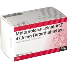 METOPROLOLSUCCINAT AbZ 47,5mg