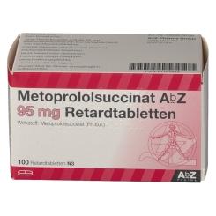 METOPROLOLSUCCINAT AbZ 95mg