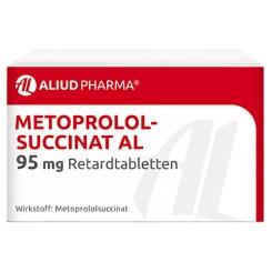 Metoprololsuccinat AL 95 mg Retardtabletten