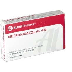 Metronidazol Al 400 Tabletten