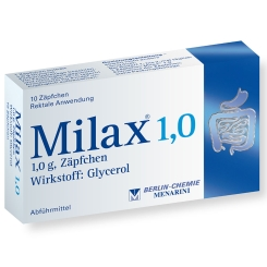 Milax® 1,0 Zäpfchen
