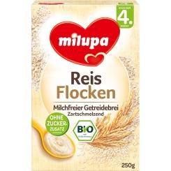 Milupa Reis Flocken nach dem 4.Monat