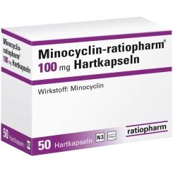 Minocyclin-ratiopharm® 100 mg Hartkapseln