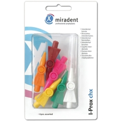 miradent I-Prox® chx Interdentalbürsten sortiert 0,5 - 5,0 mm