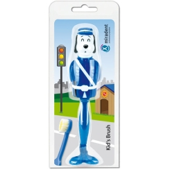miradent Kid's Brush Hund blau