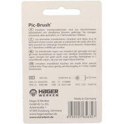 miradent Pic-Brush® Ersatz-Interdentalbürsten blau large 3,0 mm