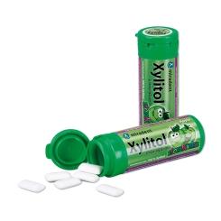 miradent Xylitol Chewing Gum Apfel für Kinder