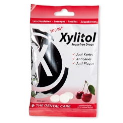 miradent Xylitol Drops Cherry zuckerfrei