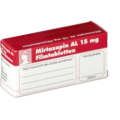 MIRTAZAPIN AL 15 mg