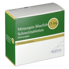 MIRTAZAPIN Bluefish 15 mg Schmelztabletten