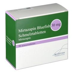 MIRTAZAPIN Bluefish 30 mg Schmelztabletten