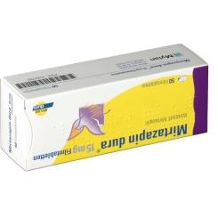 MIRTAZAPIN dura 15 mg Filmtabletten