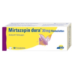 MIRTAZAPIN dura 30 mg