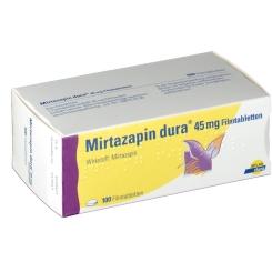 Mirtazapin dura 45 mg Filmtabletten