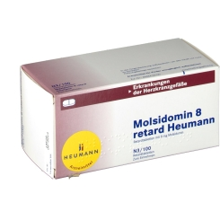 Molsidomin 8 retard Heumann Retardtabletten