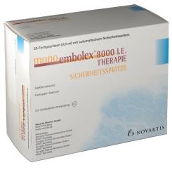 Mono Embolex 8 000 I.e. Therapie Fertigspritzen