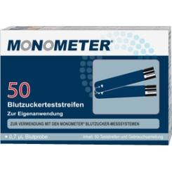 Monometer Blutzucker-Teststreifen