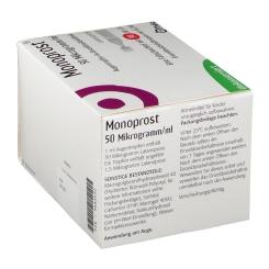 MONOPROST 50 Mikrogramm/ml Augentr.in Einzeldosen