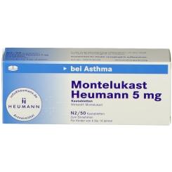 MONTELUKAST Heumann 5 mg