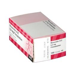 Moxonidin AbZ 0,3 mg Filmtabletten