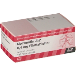 Moxonidin AbZ 0,4 mg Filmtabletten