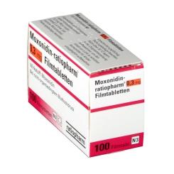Moxonidin ratiopharm 0,3 mg Filmtabletten