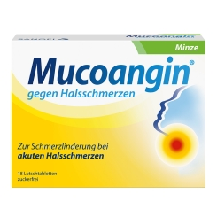 Mucoangin® Minze 20 mg