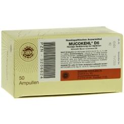 Mucokehl® D6 Ampullen