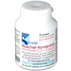 Muschel Konzentrat Kapseln mit Vitaminen