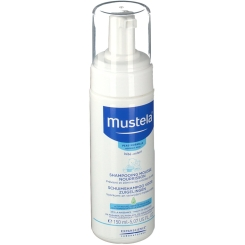 mustela® Bébé Schaumshampoo für Säuglinge