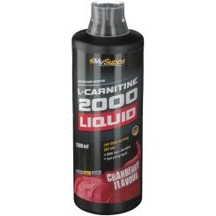 MySupps L-CARNITINE 2000 Liquid Cranberry