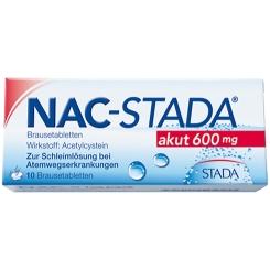 NAC-STADA® akut 600 mg Brausetabletten