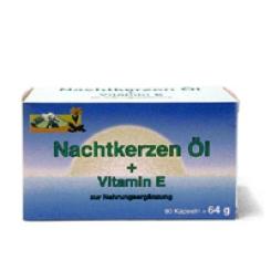 Nachtkerzenöl Kapseln + Vitamin E