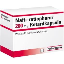 NAFTI RATIOPHARM 200 mg Retardkapseln
