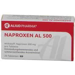 Naproxen Al 500 Tabletten