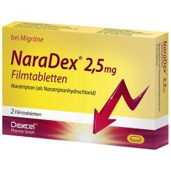 NaraDex® 2,5 mg