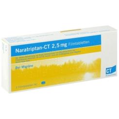 Naratriptan-CT 2,5 mg Filmtabletten