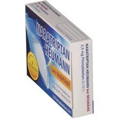 Naratriptan Heumann bei Migräne 2,5 mg