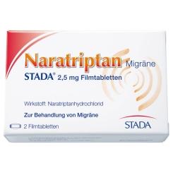 Naratriptan Migräne STADA® 2,5 mg Filmtabletten