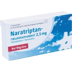 Naratriptan-neuraxpharm® 2,5 mg