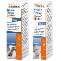Nasenspray-ratiopharm® Familien-Set